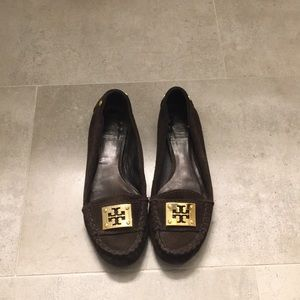 Tory Burch loafers | as 6.5 chocolate brown suede